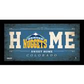 Denver Nuggets 6x12 Home Sweet Home Sign