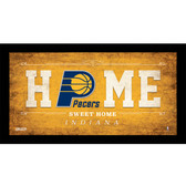 Indiana Pacers 6x12 Home Sweet Home Sign