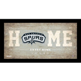 San Antonio Spurs 6x12 Home Sweet Home Sign