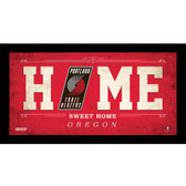 Portland Trail Blazers 6x12 Home Sweet Home Sign