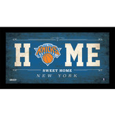 New York Knicks 10x20 Home Sweet Home Sign