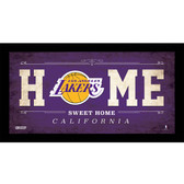 Los Angeles Lakers 10x20 Home Sweet Home Sign