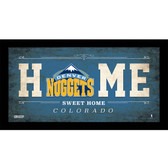 Denver Nuggets 10x20 Home Sweet Home Sign
