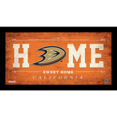 Anaheim Ducks 6x12 Home Sweet Home Sign