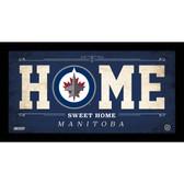 Winnipeg Jets 6x12 Home Sweet Home Sign