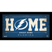 Tampa Bay Lightning 6x12 Home Sweet Home Sign