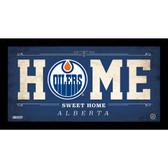 Edmonton Oilers 6x12 Home Sweet Home Sign