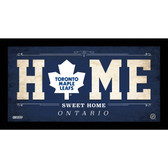 Toronto Maple Leafs 10x20 Home Sweet Home Sign