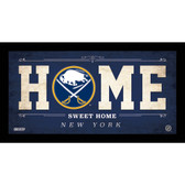 Buffalo Sabres 10x20 Home Sweet Home Sign