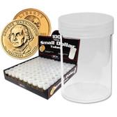 Coin Tubes - Small Dollar - 98/bx