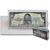 Deluxe Currency Holder - Regular Bill (50/pk)
