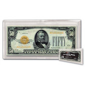 Deluxe Currency Slab - Large Bill (25/pk)