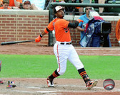 Baltimore Orioles Adam Jones 16x20 Stretched Canvas # 2