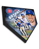 Chicago Cubs Kris Bryant Home Plate Plaque