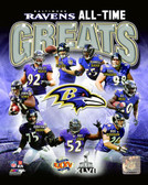 Baltimore Ravens 16x20 Stretched Canvas