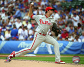 Philadelphia Phillies Aaron Nola 16x20 Stretched Canvas