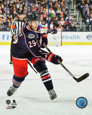 Columbus Blue Jackets Cody Goloubef 40x50 Stretched Canvas