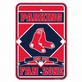 Boston Red Sox 12x18 Plastic Fan Zone Sign