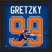 Edmonton Oilers Wayne Gretzky 20x20 Uniframe Jersey Photo