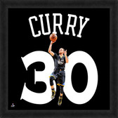 Golden State Warriors Stephen Curry 20x20 Uniframe Jersey Photo