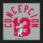 Cincinnati Reds Dave Concepcion 20x20 Uniframe Jersey Photo