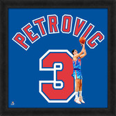 Brooklyn Nets Drazen Petrovic 20x20 Uniframe Jersey Photo