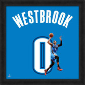Oklahoma City Thunder Russell Westbrook 20x20 Uniframe Jersey Photo