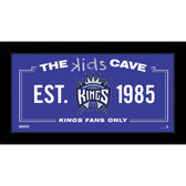 Sacramento Kings 6x12 Kids Cave Sign