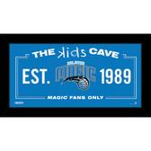 Orlando Magic 6x12 Kids Cave Sign