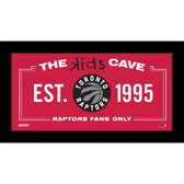 Toronto Raptors 6x12 Kids Cave Sign