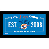 Oklahoma City Thunder 6x12 Kids Cave Sign