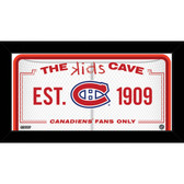 Montreal Canadiens 6x12 Kids Cave Sign