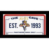 Florida Panthers 6x12 Kids Cave Sign