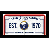 Buffalo Sabres 6x12 Kids Cave Sign