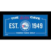 Philadelphia 76ers 10x20 Kids Cave Sign