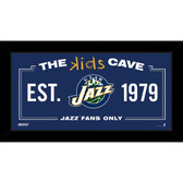 Utah Jazz 10x20 Kids Cave Sign