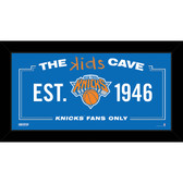 New York Knicks 10x20 Kids Cave Sign