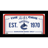 Vancouver Canucks 10x20 Kids Cave Sign