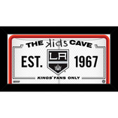 Los Angeles Kings 10x20 Kids Cave Sign