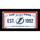 Tampa Bay Lightning 10x20 Kids Cave Sign