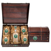 Marshall University Capitol Decanter Chest Set