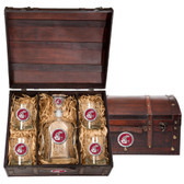 Washington State Cougars Capitol Decanter Chest Set
