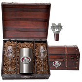 Mississippi State Bulldogs #2 Wine Chest Set