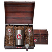 Louisville Cardinals Wine Chest Set