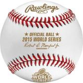 2015 Official Rawlings World Series Baseball