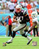 New England Patriots Rob Gronkowski 16x20 Stretched Canvas