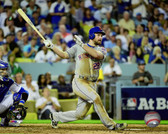 New York Mets  Daniel Murphy Home Run Game 5 of the 2015 National League Division Series 16x20 Stretched Canvas