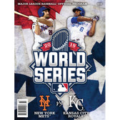2015 Official MLB World Series Program - New York Mets vs Kansas City Royals