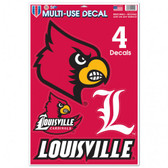 "Louisville Cardinals 11""x17"" Ultra Decal Sheet"