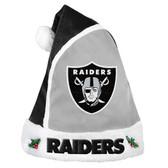 Oakland Raiders 2015 Basic Santa Hat